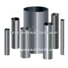Large diameter brushed stainless steel pipe
