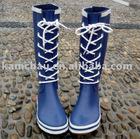 Special lace rubber rain boots (Fashion)
