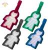 NLT008 people shape plastic luggage label