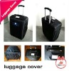 plastic luggage cover