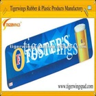 anti-slip,durable and waterproof branded bar counter mat