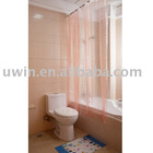 Vinyl Transparent Shower curtain,home vinyl shower curtains