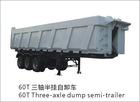 Semi-trailer for dumper