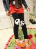 girls fashion leggings WITH Panda pattern