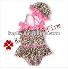 Leopard swim baby suit swimwear