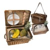 eco-friendly couple picnic baskets