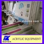 transparent photo frame acrylic rack