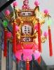 Plastic Palace Lamp 636# 35X35X42CM