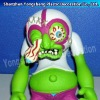Plastic toy monster action figure