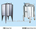 SUS316L SUS304-2B stainless steel shampoo storage tank liquid stored tank