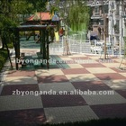 Paving brick High water permeability