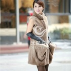 mink fur jacket fashion C-042