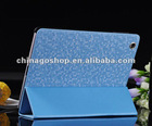 Ultrathin Bling diamond leather case for ipad 3