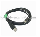 1.5m 3m USB data cable USB AM TO BM cable