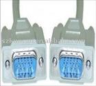 VGA Cable HD15 VGA Moniter Cable 15c male to female(KCV-007