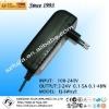 48W 12V 4A 24V 2A wall-mount style Euro Plug ac adapter 12v