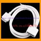iPhone 4 iPod 30 Pin Dock Extender Extension Cable Cord