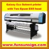 Galaxy UD1812LA Eco Solvent Flatbed Printer (two Epson DX5 head )