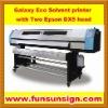 Galaxy UD1812LA Eco Solvent Flatbed Printer (two Epson DX5 head )