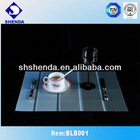 2012 popular strip pattern PVC table mat
