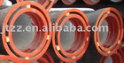 Ductile iron cement lined pipe