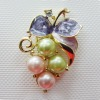 fashion pearl brooch jewelry
