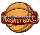 embroidered sport patch for Basketball