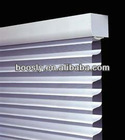 Electrically Operated Shangri-la Blinds