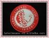 popular overlock woven patchs for garment