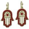 Hamsa hand Kabbalah Fatima hand OF Earrings