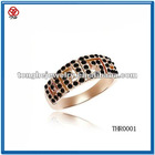 2012 new fashion gold ring with jewelry