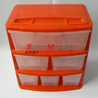 plastic drawer mould with 6 drawer furniture locker mould