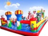 The latest design HQ inflatable castle for playground