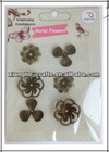 china factory handmade metal flowers for crafts
