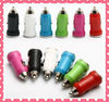 Sinoela HOT sale 5V,1A mini dual USB car charger for mobile phone