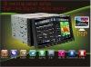"Brand New Detachable 7""HD double din car dvd with GPS 3D menu BT TV RDS"
