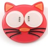 Brooch, Pin, Funky Pink Plastic Cat Brooch