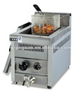 14L Counter Top Gas Deep Fryer with Thermostat and Safty