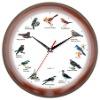 Singing bird Talking time Clock