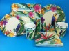 2012 new design paper cup, paper plates with napkin set