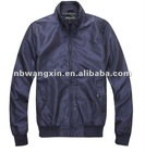 wx polyester long sleeve zip knitted men jacket
