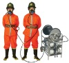 Long tube air breathing apparatus