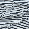 100% combed cotton knitted yarn dyed fabric