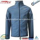 Fashion soft shell garment for men with printing and embroidery for fashion new style
