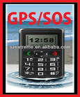 With SOS Emergency Help GPS Self Position Mobile Phone