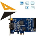 ECS-5808 8 ch video and audio input DVR Card