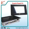 8 inch industrial resistive panel pcs with 1024x600 pixels resolution