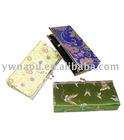 Fashion Ladies' brocade Wallet & Purse with shoulder chain