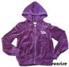 children knitwear-zipper-front leisure coat