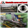 barrel and screw extruder part conical double screw and cylinder for conical double screw and cylinder for pvc extruder
